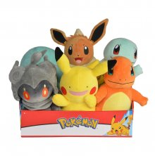 Pokémon Plush Figures 20 cm Wave 2 Display (6)
