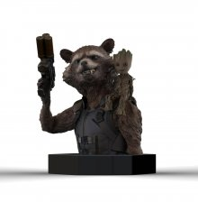 Guardians of the Galaxy Vol. 2 Bust 1/6 Rocket Raccoon & Groot 1