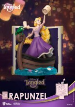 Disney Story Book Series D-Stage PVC Diorama Rapunzel New Versio