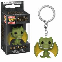Game of Thrones Pocket POP! vinylový přívěšek na klíče Rhaegal 4