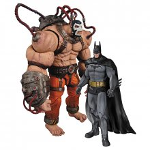 Batman Arkham Asylum sada figurek 2-Pack Bane vs. Batman 17 cm