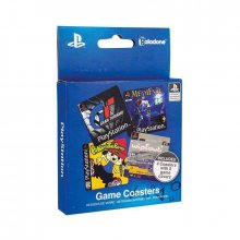 PlayStation podtácky 4-Pack Game Cover