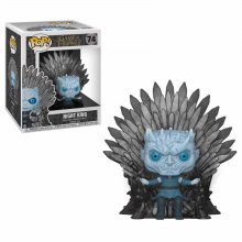 Game of Thrones POP! Deluxe Vinylová Figurka Night King on Iron