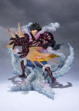 One Piece FiguartsZERO PVC Statue Monkey D. Luffy Gear 4 Leo Baz
