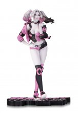 DC Comics Pink, White & Black Statue Harley Quinn Valentine by L