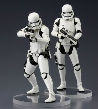 Star Wars Episode VII ARTFX+ Statue 2-Pack First Order Stormtroo