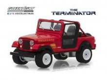 Terminator kovový model 1/18 1983 Jeep CJ-7 Renegade with Figur