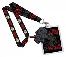 Star Wars POP! Lanyard with Rubber Keychain Darth Vader & Backer