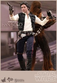Star Wars 2-pack Han Solo & Chewbacca Hot Toys figurky