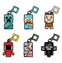 Minecraft Bobble Mobs Hangers Series 2 Blind Boxes Display (18)