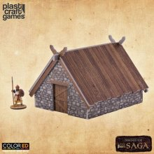 SAGA ColorED Miniature Gaming Model Kit 28 mm Pit House