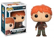Harry Potter POP! Movies Vinyl Figure Ron Weasley with Scabbers