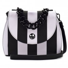 Nightmare before Christmas by Loungefly Crossbody Bag NBC Stripe