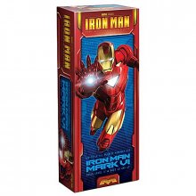 Iron Man plastový model kit Iron Man Mark VI 1:8 23 cm