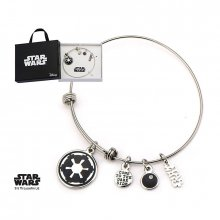 Star Wars Charm Expandable náramek Galactic Empire Symbol