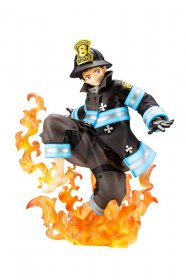Fire Force ARTFXJ Socha 1/8 Shinra Kusakabe 21 cm
