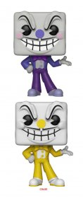Cuphead POP! Games Figures King Dice 9 cm prodej v sadě (6)