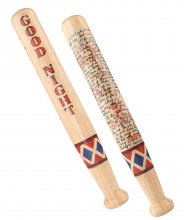 Birds Of Prey Rolling pin Harley Quinn Bat 44 cm
