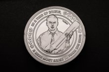 Shaun of the Dead sběratelská mince 25th Anniversary (silver pla