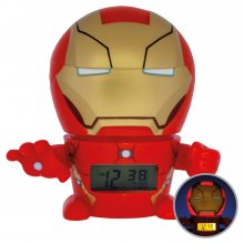 Marvel BulbBotz Budík with Light Iron Man 14 cm