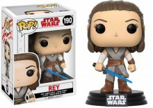 Star Wars Episode VIII POP! Vinyl Bobble-Head Rey 9 cm