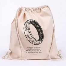 Lord of the Rings Draw String Bag One Ring