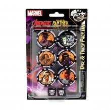 Marvel HeroClix: Avengers Black Panther and the Illuminati Dice