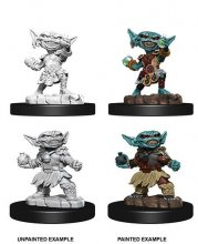 Pathfinder Battles Deep Cuts Unpainted Miniatures Female Goblin