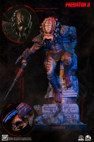 Predator 2 Socha 1/4 City Hunter Ultimate Edition 65 cm