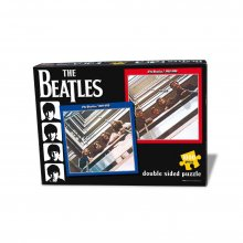 The Beatles Puzzle Red & Blue Double