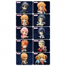 Sword Art Online PVC Petanko sada mini figurek 10-Pack 5 cm