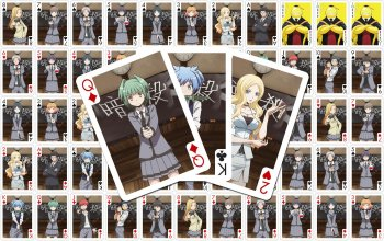 Assassination Classroom herní karty Characters