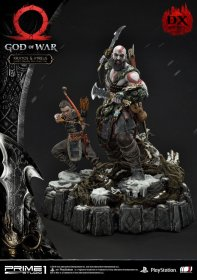 God of War (2018) Socha Kratos & Atreus Deluxe Ver. 72 cm