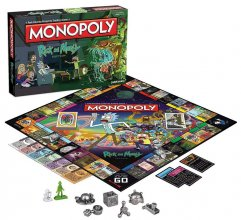 Rick and Morty desková hra Monopoly *French Version*