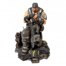 Gears of War 3 Collector's Edition PVC Socha Marcus Fenix 28 cm