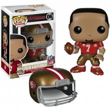 NFL POP! Football figurka Colin Kaepernick (SF 49ers) 9 cm Black