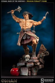 Conan the Barbarian Premium Format Figure Rage of the Undying