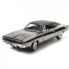 Bullitt model 1968 Dodge Charger R/T 440 Magnum Chrome