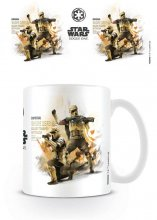 Star Wars Rogue One Mug Shore Trooper