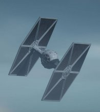 Star Wars The Mandalorian Model Kit 1/65 Outland TIE Fighter 16