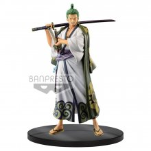 One Piece DXF Grandline Men PVC Socha Wanokuni Vol. 2 Zoro 17 c