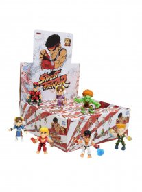 Street Fighter Action Vinyl mini figurky 8 cm HT Display (12)