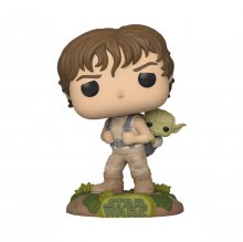Star Wars POP! Movies Vinylová Figurka Training Luke with Yoda 9