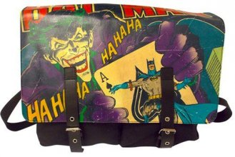 Batman Messenger Bag Joker Ha Ha Ha