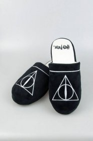 Harry Potter Papuče Deathly Hallows Size L