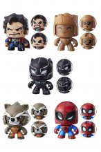 Marvel Mighty Muggs Figures 9 cm 2018 Wave 2 Assortment (6)