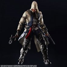 Assassins Creed III Play Arts Kai Akční figurka Connor Kenway 2