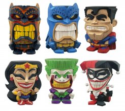 DC Comics Teekeez Vinyl Figures Series 1 Display 8 cm (12)