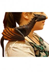 Game of Thrones autentická replika Drogon Shoulder