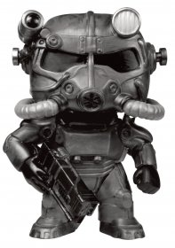 Fallout POP! Games Vinyl Figure T-60 Power Armor (Black) 9 cm